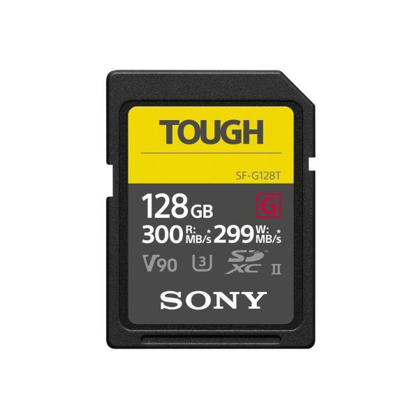 ソニー TOUGH SF-G128T SDXCメモリーカード Class10 (UHS-II) 128GBの画像