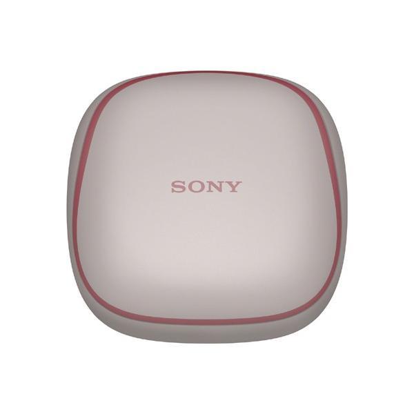 ワイヤレスノイズキャンセリング ステレオヘッドセット SONY WF-SP700N (P) ピンク