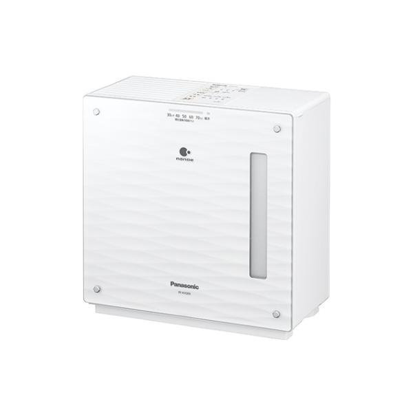 パナソニック ナノイー搭載 ヒーターレス気化式加湿器 FE-KXS05-W ミスティホワイト 木造8.5畳/プレハブ14畳|amuseland
