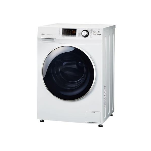 アクア ドラム式全自動洗濯機 AQW-FV800E(W) ホワイトの画像