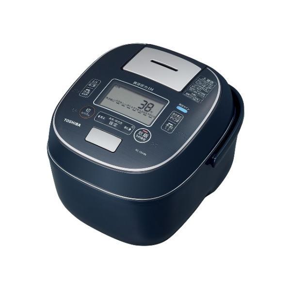 東芝 真空圧力IH炊飯器(5.5合炊き) RC-10VXN(L) [インディゴブルー]|amuseland