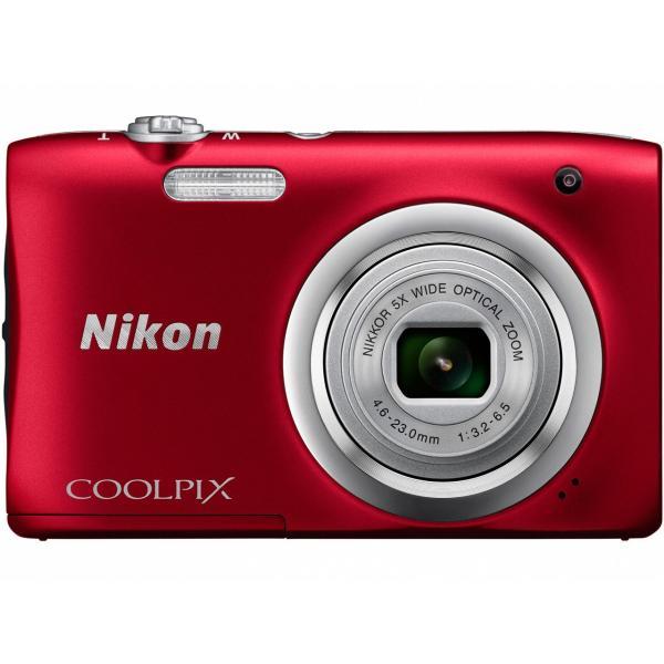 ニコン コンパクトデジタルカメラ COOLPIX A100 [レッド]