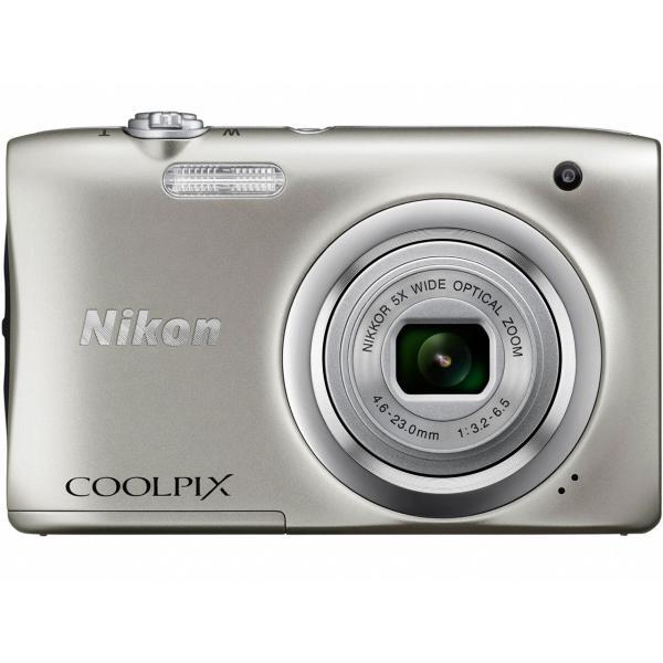 ニコン コンパクトデジタルカメラ COOLPIX A100 [シルバー]