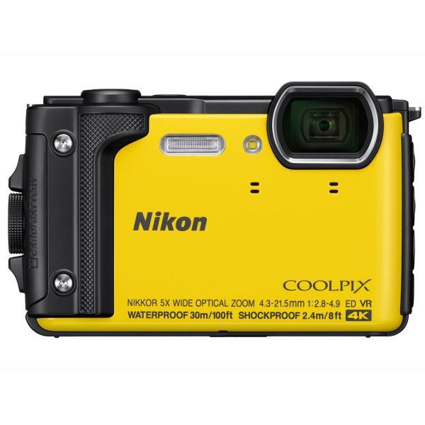【納期:約4週間】ニコン コンパクトデジタルカメラ COOLPIX W300 [イエロー]
