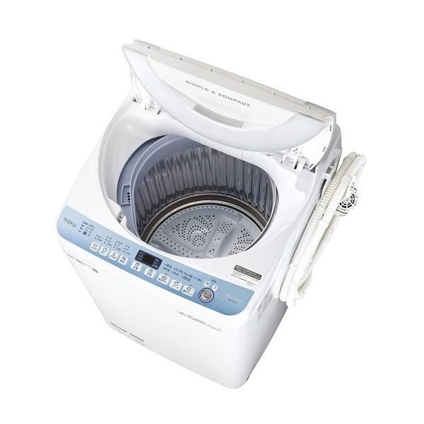 シャープ 7kg 全自動洗濯機 ES-T711|amuseland
