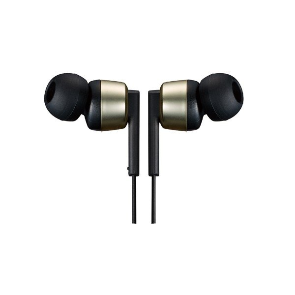 Bluetoothワイヤレスステレオヘッドセット JVC HA-FX87BN-N ゴールド イズキャンセリング機能搭載