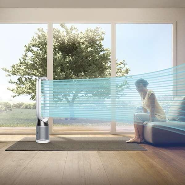 ダイソン 空気清浄機能付きタワーファン Dyson Pure Cool TP04WSN [ホワイト/シルバー] ○|amuseland|04