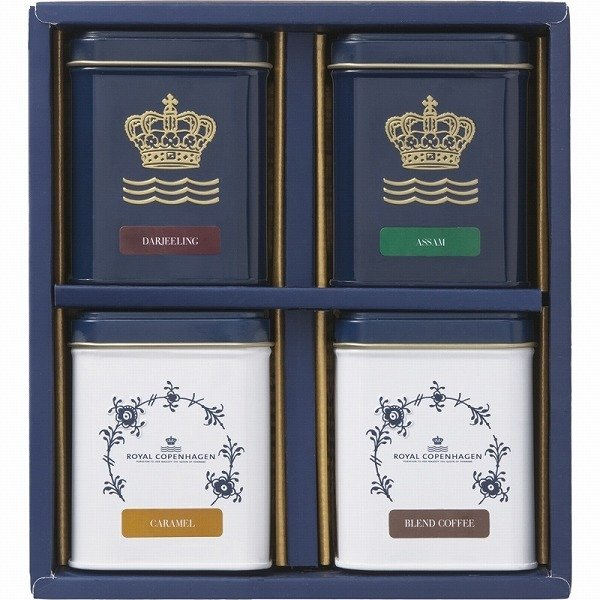 ギフト 内祝い 贈り物 ロイヤル コペンハーゲン 紅茶・コーヒーセット TC50 お返し 引き出物 結婚内祝い プレゼント お中元 2021