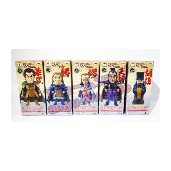 キングダム ワールドコレクタブルフィギュア vol.6 全5種セット|amyu-mustore