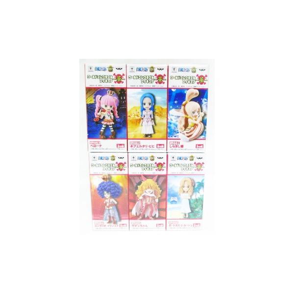 ワンピース ワールドコレクタブルフィギュア 華 全6種セット|amyu-mustore