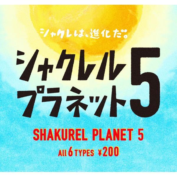 パンダの穴 シャクレルプラネット5 全6種セット|amyu-mustore|02