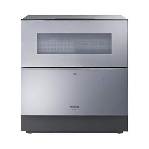 【食洗器洗剤 ジョイジェルタブ3個セット プレゼント!】パナソニック 食器洗い乾燥機 シルバー NP-TZ300-S
