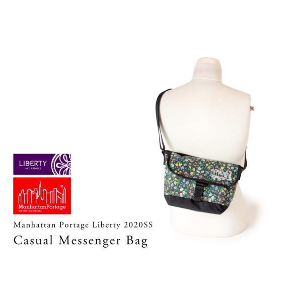 マンハッタンポーテージ 正規品 限定モデル Manhattan Portage Liberty Fabric メッセンジャーバッグ ショルダーバッグ Casual Messenger Bag MP1603LBTY20SS anagram 02