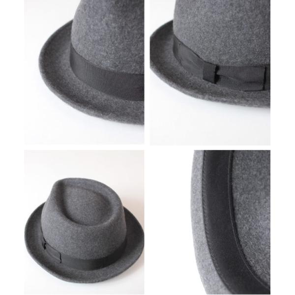 クーポン配布中 オリエント Orient フェルトハット 中折れハット M59cm L61cm XL63cm 大きいサイズ キングサイズ 帽子 メンズ レディース anagram 02