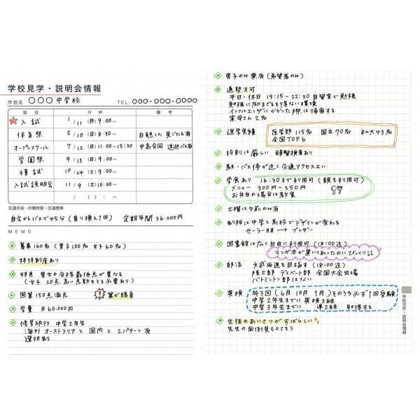 【公式】限定表紙 Home(アナログママ)analogmama 受験スケジュール帳 <2022年受験用> A5 受験 手帳 スケジュール帳  携帯 受験手帳|analogmama777|13