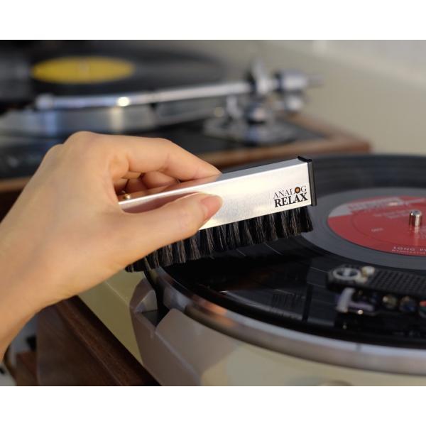 アナログリラックス除電ブラシ レコード用静電気+ほこり除去ブラシ|analogrelax|02