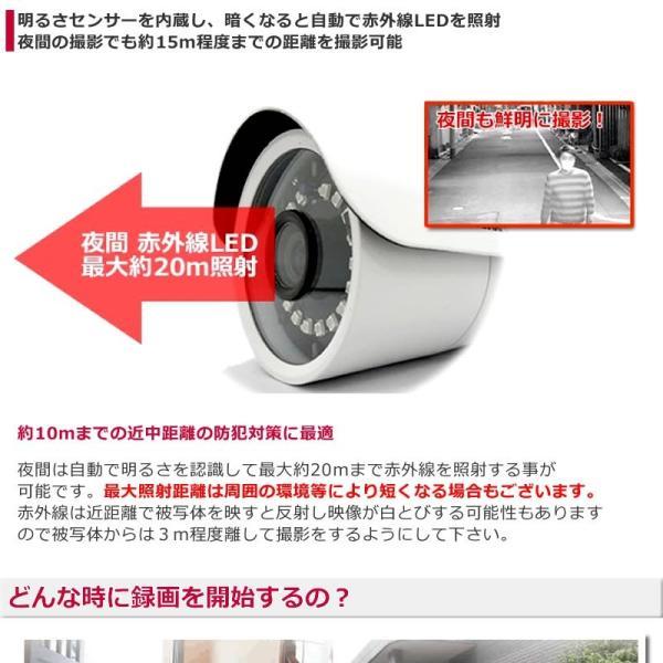 防犯カメラ ドーム  sdカード録画 屋内 家庭用   高画質 SDカードキャンペーン|andavision|04