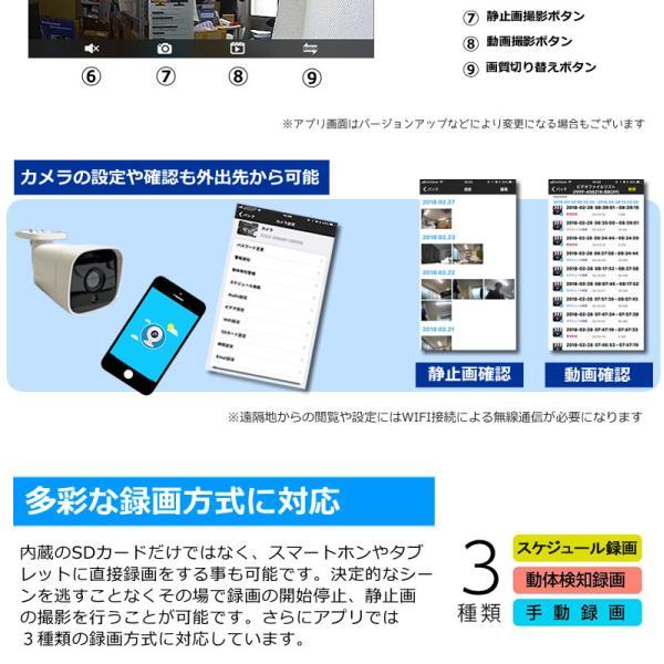 ペットカメラ 留守番  ベビーモニター  防犯カメラ 自動追跡 自動追尾 ワイヤレス WiFi   スイングカメラ AV-IPCAM02|andavision|09