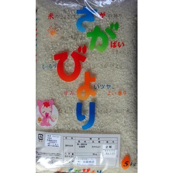 お米 さがびより 5kg 佐賀県  andokometen 02
