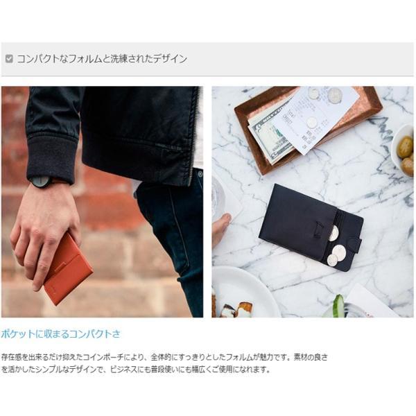 二つ折り財布 メンズ 財布サイフさいふ ブランド 本革 薄い財布 小銭入れあり Bellroyベルロイ Coin Fold Wallet|anelanalu|09