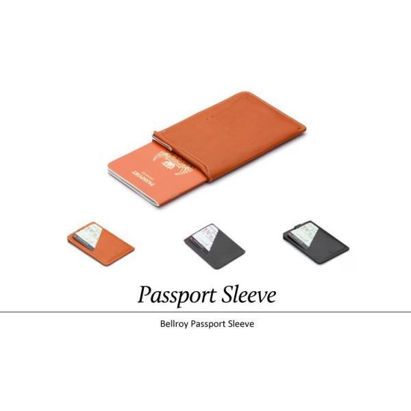 パスポートケース ブランド 革 おしゃれ メンズ レディース ベルロイ Bellroyベルロイ Passport Sleeve|anelanalu