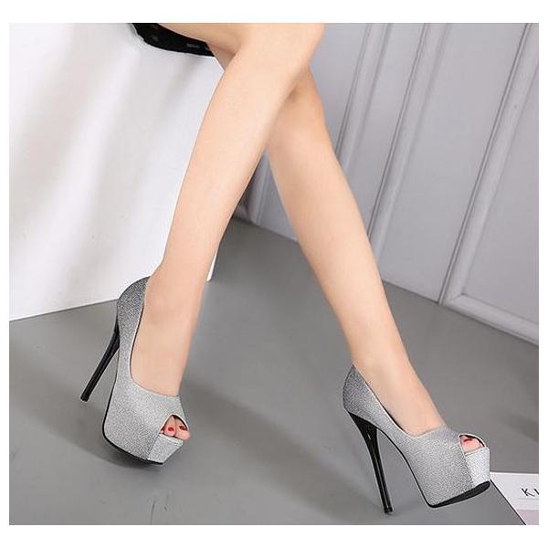 3color! 韓国ハイヒール 痛くない レディース  歩きやすい 美脚  疲れない 靴 シューズ  ヒール14cm  春 夏 結婚式  二次会  大きいサイズ|anemo|04
