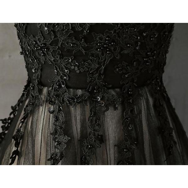 ドレス 結婚式 パーティードレス 袖なし 立ち襟 ロングドレス マキシ丈 膝丈 大きいサイズ パーティドレス ブライズメイド 二次会 発表会 お呼ばれ 着痩せ|anemo|07