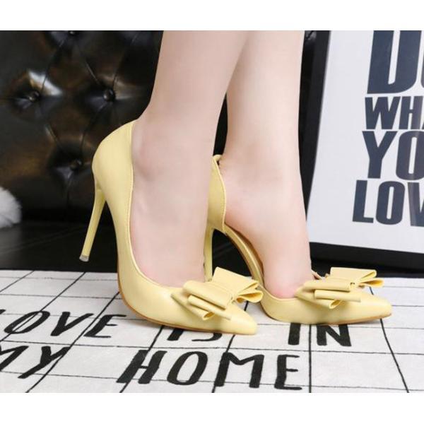 パンプス ハイヒール レディースシューズ 痛くない 走れる 10.5cm  ヒール  結婚式シューズ 就活 二次会 靴  黒 ブラック  ポインテッドトゥ|anemo|07