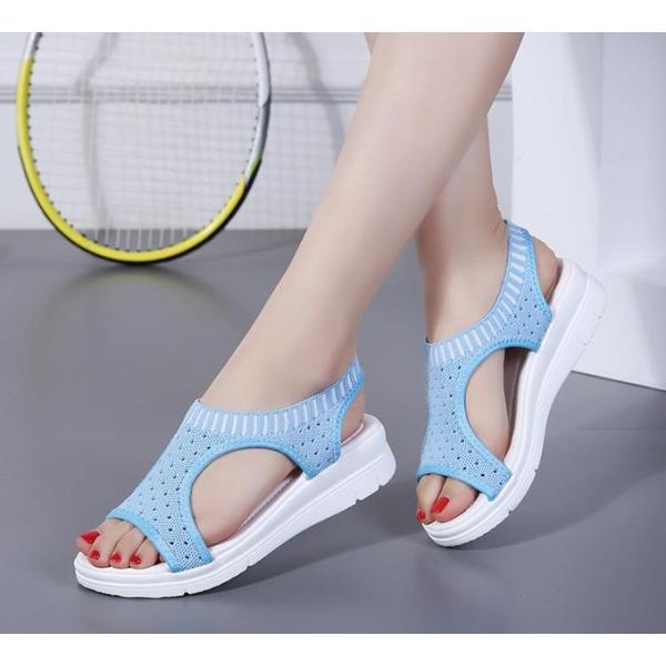 サンダル レディース スポーツサンダル 厚底 スポサン フラット スニーカーサンダル 夏 歩きやすい コンフォートサンダル 新作 カジュアル レディース靴 sandal|anemo|12