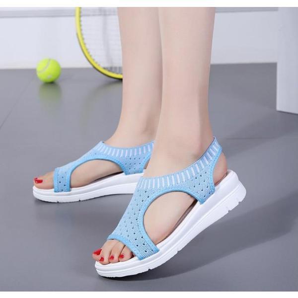 サンダル レディース スポーツサンダル 厚底 スポサン フラット スニーカーサンダル 夏 歩きやすい コンフォートサンダル 新作 カジュアル レディース靴 sandal|anemo|13