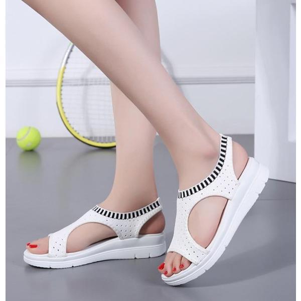 サンダル レディース スポーツサンダル 厚底 スポサン フラット スニーカーサンダル 夏 歩きやすい コンフォートサンダル 新作 カジュアル レディース靴 sandal|anemo|15