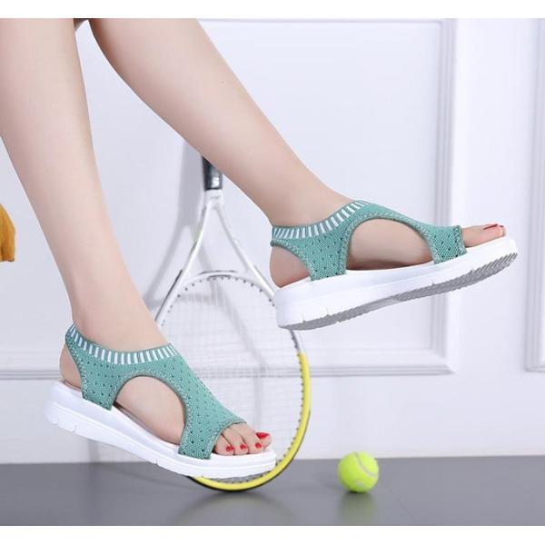 サンダル レディース スポーツサンダル 厚底 スポサン フラット スニーカーサンダル 夏 歩きやすい コンフォートサンダル 新作 カジュアル レディース靴 sandal|anemo|16