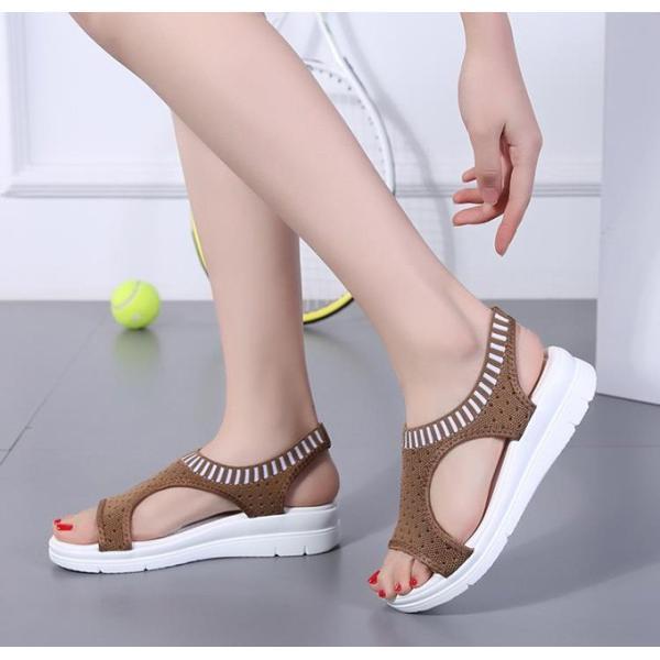 サンダル レディース スポーツサンダル 厚底 スポサン フラット スニーカーサンダル 夏 歩きやすい コンフォートサンダル 新作 カジュアル レディース靴 sandal|anemo|18