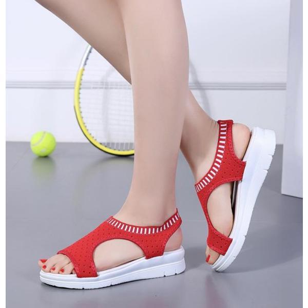 サンダル レディース スポーツサンダル 厚底 スポサン フラット スニーカーサンダル 夏 歩きやすい コンフォートサンダル 新作 カジュアル レディース靴 sandal|anemo|05