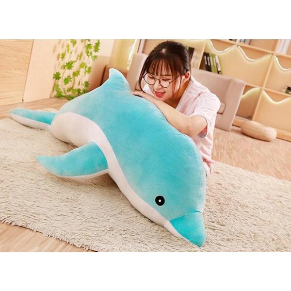 可愛いイルカ イルカぬいぐるみ  特大 大きい   ぬいぐるみ  柔らかい 抱き枕 動物 ふわふわぬいぐるみ 100/120/140/160cm プレゼント anemo 04