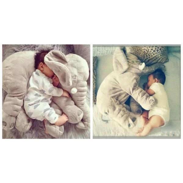 ぬいぐるみ アフリカゾウ 象 赤ちゃん ベビー 抱き枕 子供おもちゃ 動物 可愛い ふわふわで癒される  出産祝い プレゼント 長さ60|anemo|06
