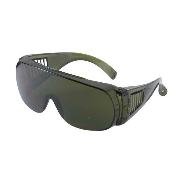 溶接 メガネ 遮光度4番標準 ガス溶接 ゴーグル グリーン色