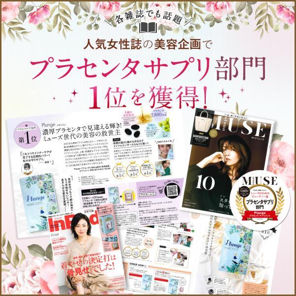 プラセンタ サプリ『Plange(プランジュ)』公式/ 送料無料 2袋 セット ( 1袋90粒 )入り コラーゲン ヒアルロン酸 ビタミン E アムラ サプリメント|ange-selectshop1|04