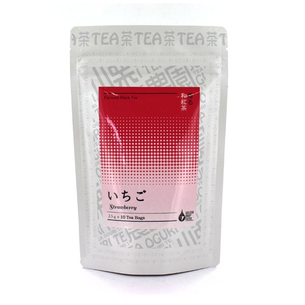 香る和紅茶 いちご ティーバッグ 2.5g×10P 静岡県牧之原産茶葉使用 フレーバーティー