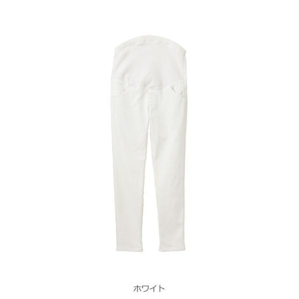 SALE あったか  裏起毛 P・パンツ ベビースキンカラーガールフレンド ピーパンツ ズボン 妊婦服 マタニティ|angeliebe|10