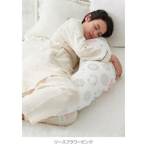 【ポイント10倍】マタニティ 日本製 モスリンガーゼ マルチクッション ナーシングピロー 授乳 枕 授乳クッション 出産準備 ママ 赤ちゃん まくら|angeliebe|10