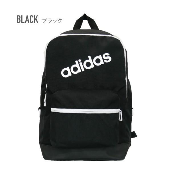 adidas アディダス リュック バッグ バックパック リュックサック デイバッグ メンズ レディース 通学 通勤 BC リニアロゴバックパック M|angelique-girlish|05