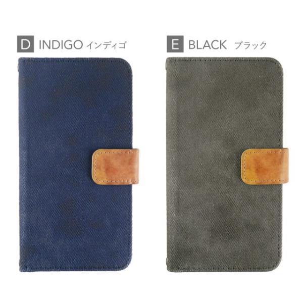 LG Q Stylus ケース 手帳型 デニム LGエレクトロニクス カバー angelique-girlish 11