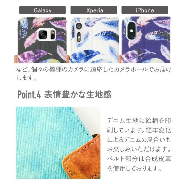 LG Q Stylus ケース 手帳型 デニム LGエレクトロニクス カバー angelique-girlish 15