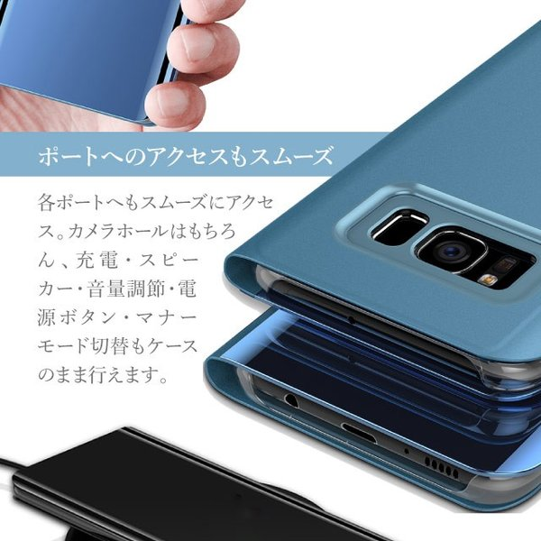 iPhone XR 手帳型 ケース iphonexr iphone xs max ケース カバー iPhoneXS X 8 8Plus 7 7Plus 6 6s 6Plus 6sPlus 透明 クリア シンプル 無地|angelique-girlish|05