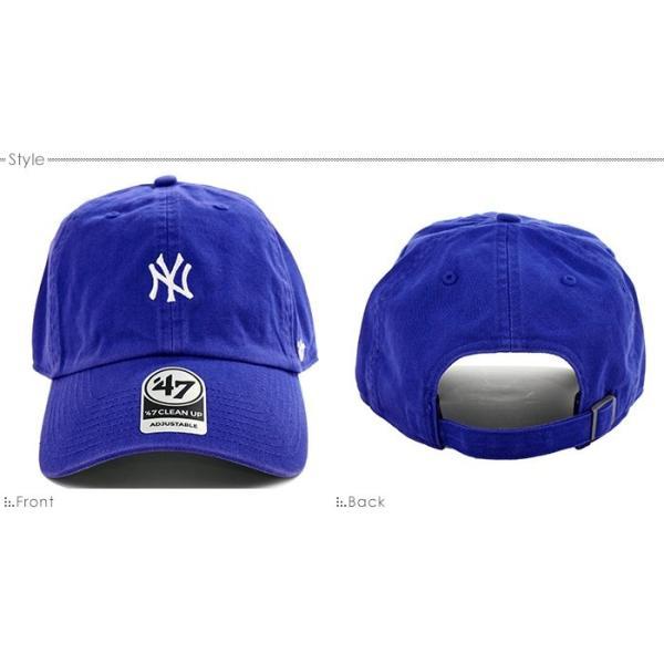 47 Brand キャップ スナップバック ヤンキース NEW YORK YANKEES BASERUNNER '47 CLEAN UP バックベルト キャップ angelitta 02
