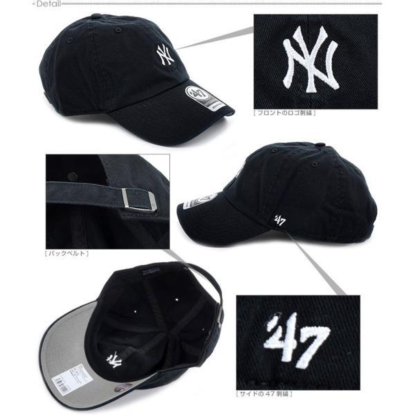 47 Brand キャップ スナップバック ヤンキース NEW YORK YANKEES BASERUNNER '47 CLEAN UP バックベルト キャップ angelitta 03