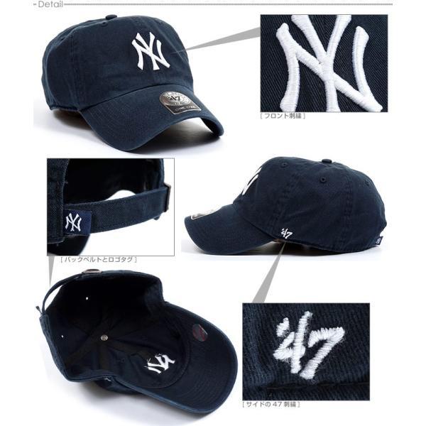 NYヤンキース キャップ 47Brand スナップバック ストラップバック MLB 帽子|angelitta|03