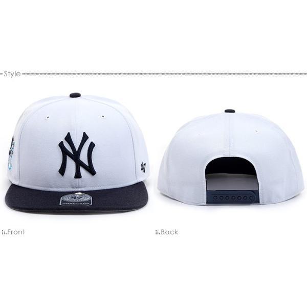 NYヤンキース キャップ 47Brand スナップバック MLB 帽子|angelitta|02
