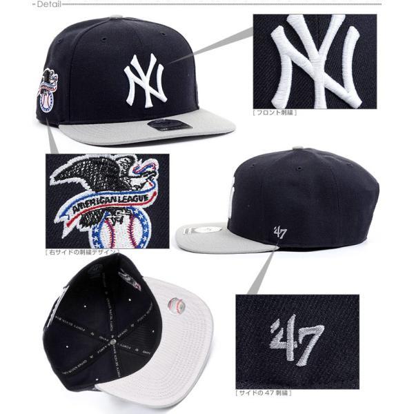 NYヤンキース キャップ 47Brand スナップバック MLB 帽子|angelitta|03